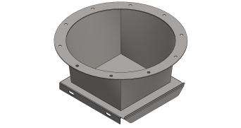 CIH-44 Conexión de silo horizontal