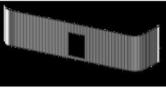 Valla lateral policarbonato nido lechones