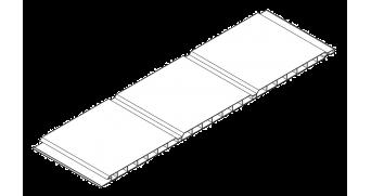 Perfil PVC falso techo