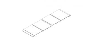 PVC wall cladding profile