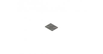 Zapatilla soporte suelo inox